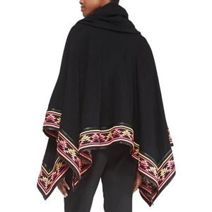 6 Shore Road by Pooja Desert Embroidered Poncho